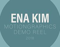 Motiongraphics Demo Reel