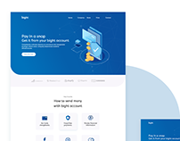 Bight Payment gateway Web site redesign
