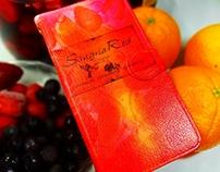 """Sangria Red"" original Smartphone case"