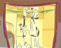 L'assaig del divendres - Digital sketching