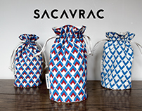 SACAVRAC - Screen printed reusable bags