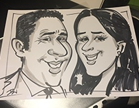 Batmitzvah Party - Caricaturist T-shirts