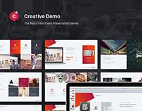 Event & Report Presentation Series 01. Creative.