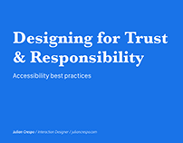 Accessibility Best Practice - Checklist