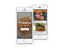 Scrumptious Mobile Cooking App