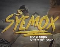 the Syemox - typeface