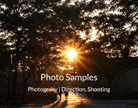 Photo Samples | Photography