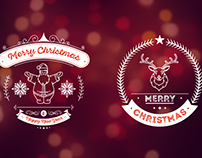 Christmas and Holiday Badges