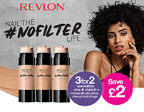 Superdrug Email Marketing - Revlon #NOFILTER