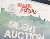 Empty Bowls by the Lake