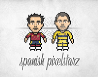Pixelstarz - spanish football characters