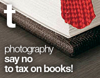 Say no to tax on books! (pro bono project)