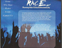 Race Now (website splash page)