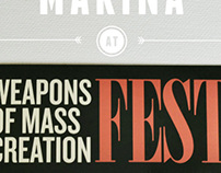 Weapons of Mass Creation Fest :: Presentation