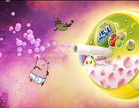 DZP Bubble It for Danone