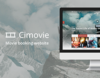 Сimovie - Movie Booking Website Concept