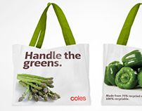 Coles - Eco friendly bags