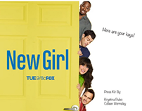 "School Work: Press Kit for Fox's ""New Girl"""