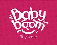 Baby Boom logo design