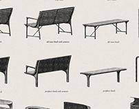 Street furniture for Prague