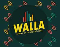 Walla Channel: Station ID, Up Next, Scheduler
