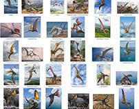 Pterosaurs illustrations