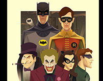 Batman 60s - ART POSTER OFFICIAL PERU