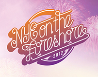NYE On The Foreshore 2012 Branding & Website