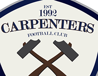 Carpenters football club  brand