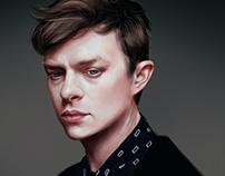Dane Dehaan Digital painting