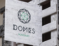 Domes Hungary branding