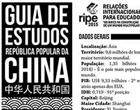 Guia de Estudo - Projeto RIPE 2015 (China)
