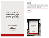 SNIPER BUS SHELTER