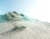 Beach imprint