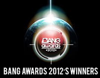 KEY VISUAL DESIGN BANG AWARDS 2O12