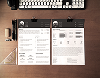 FREE A4 CV & Covering Letter Templates II