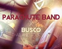 Music : Parachute Band (NZ) + Busco (MY) - ThailandTour