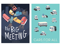 The Big Meeting / Cars for all