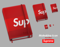 Moleskine Supreme Icon - Red Edition