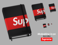 Moleskine Supreme Icon - Black Edition