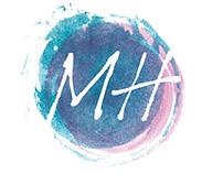 Mindful huishouden logo ontwikkeling