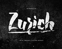 ZURICH - Brush Font