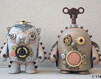 Aero-Steam Jake and Clockwork Gunter