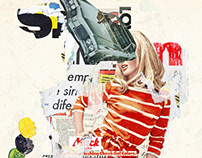 Collage artwork 259-264