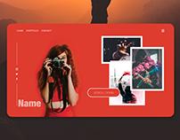UI/UX Design - Photographe