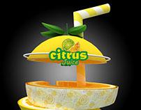 Citrus Juice Booth