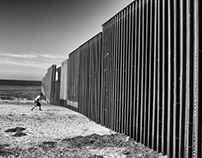 At the Border of Tijuana with the deportees