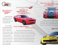 Conceptual Car Magazine Spreads