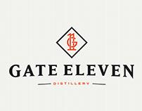 Gate Eleven Distillery Branding