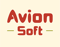 Avion Soft Typeface of 6 Fonts